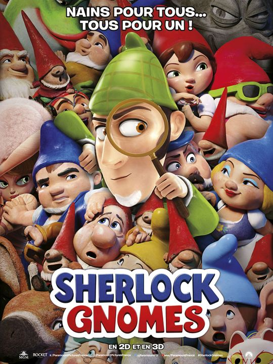Sherlock Gnomes : Affiche