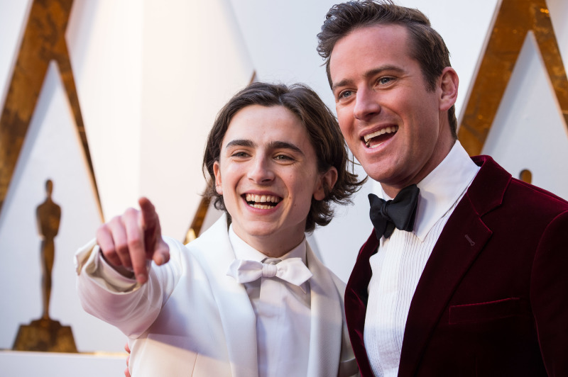Call Me By Your Name : Photo promotionnelle Armie Hammer, Timothée Chalamet