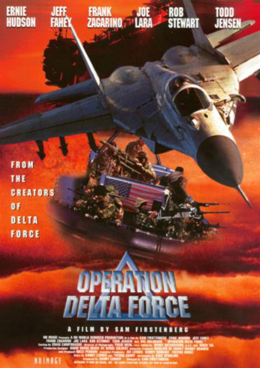 Opération Delta Force : Affiche