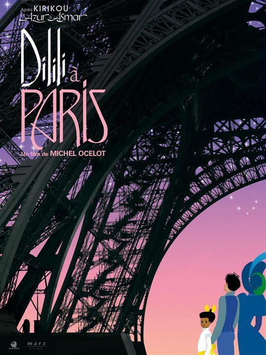 Dilili à Paris : Affiche