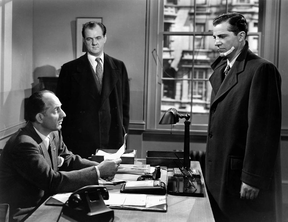 Mark Dixon, détective : Photo Dana Andrews, Karl Malden