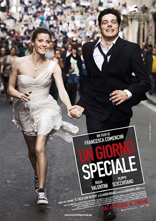 Une Journée à Rome : Affiche