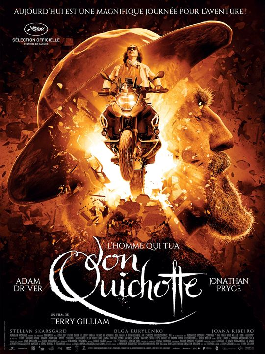 L'Homme qui tua Don Quichotte : Affiche