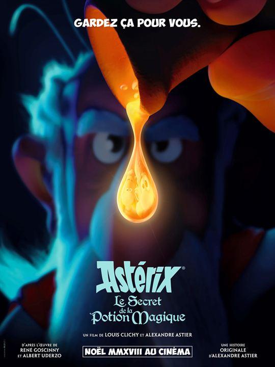 Astérix - Le Secret de la Potion Magique : Affiche