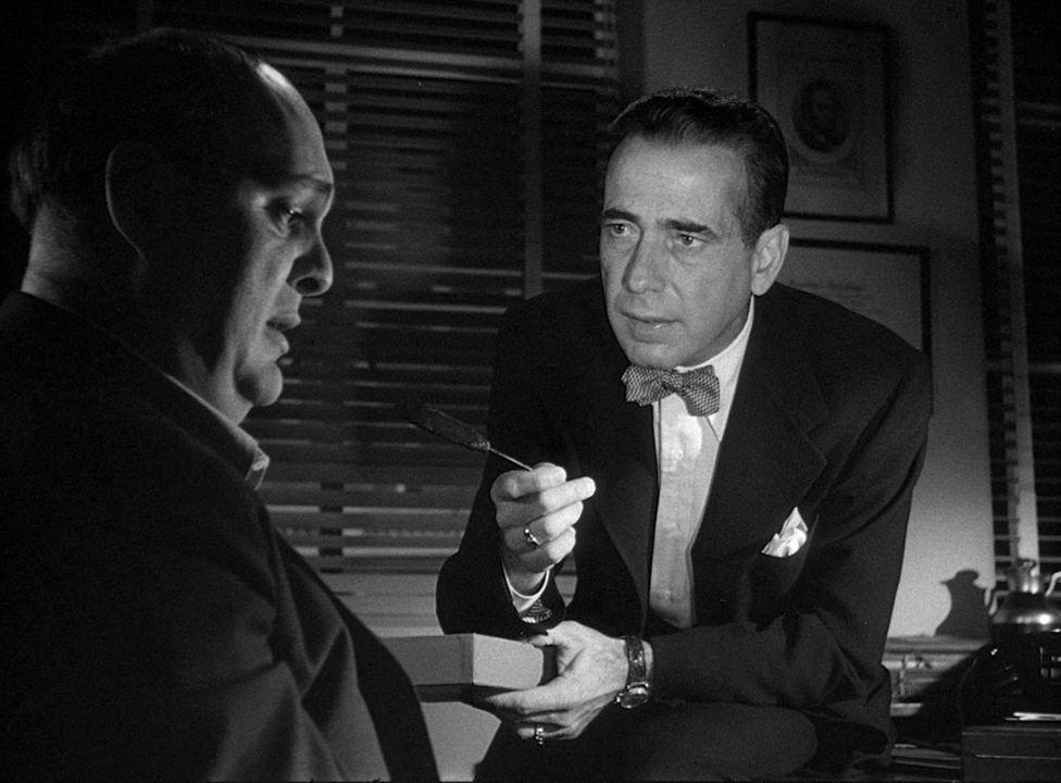 La Femme à abattre : Photo Humphrey Bogart, Zero Mostel