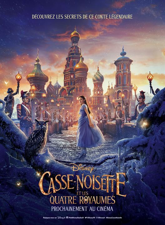 Casse-noisette et les quatre royaumes : Affiche