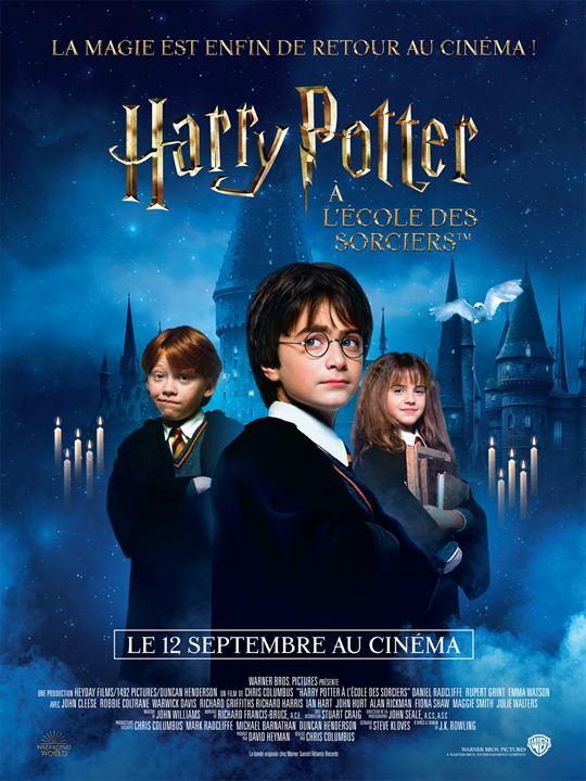 Harry Potter à l'école des sorciers : Affiche