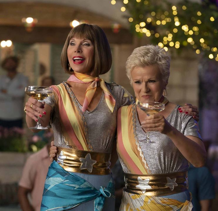 Mamma Mia! Here We Go Again : Photo Christine Baranski, Julie Walters