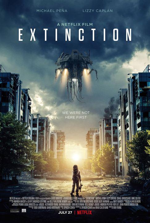 Extinction : Affiche