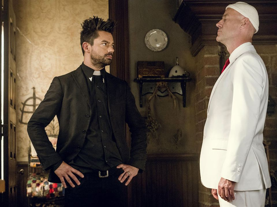 Photo Dominic Cooper, Pip Torrens