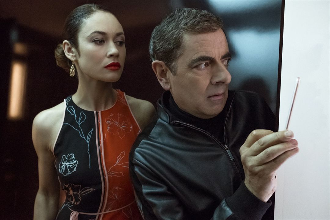 Johnny English contre-attaque : Photo Olga Kurylenko, Rowan Atkinson
