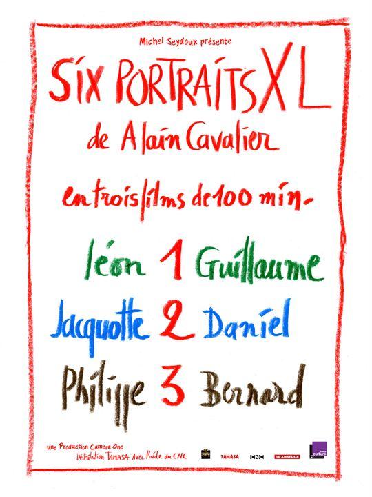 Six portraits XL : 1 Léon et Guillaume : Affiche