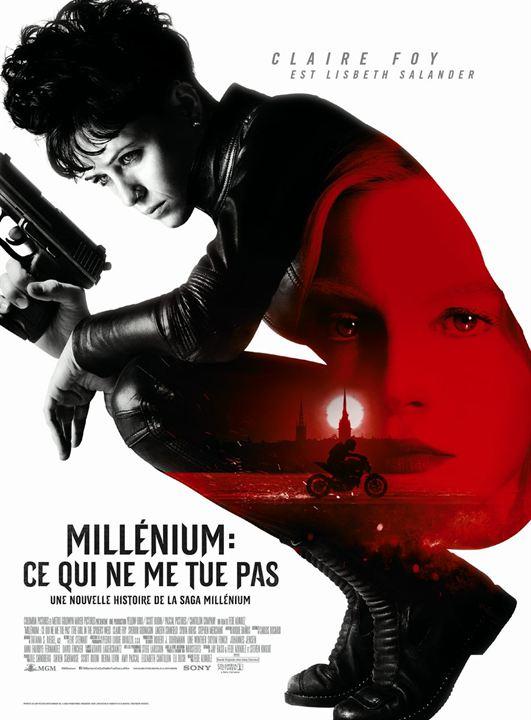 Millenium : Ce qui ne me tue pas : Affiche