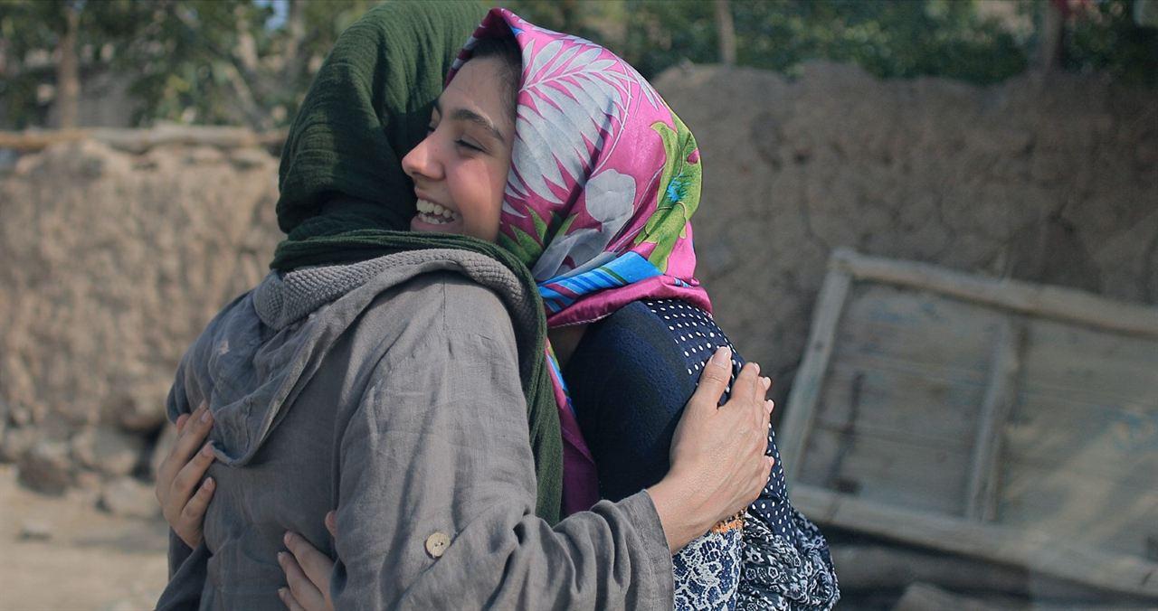 Trois visages : Photo Behnaz Jafari, Marziyeh Rezaei