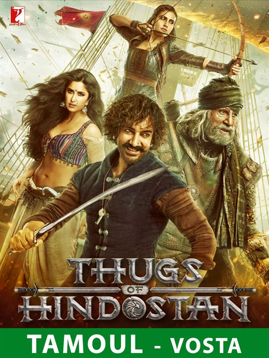 Thugs of Hindostan - Tamoul : Affiche