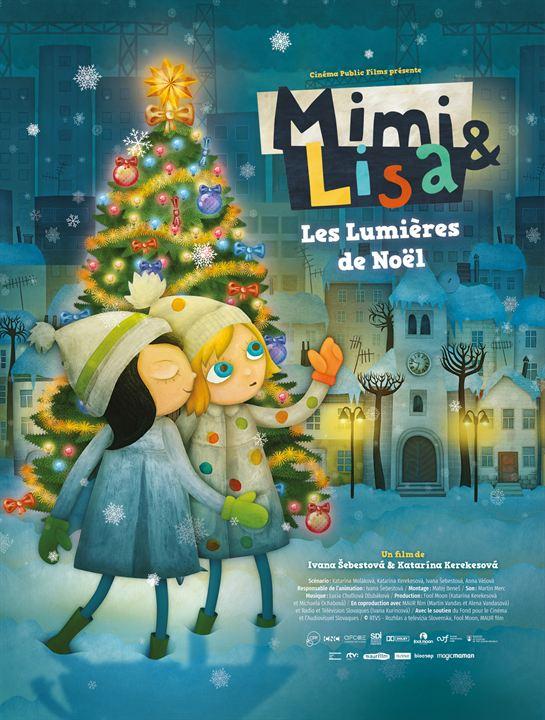 Mimi & Lisa, les lumières de Noël : Affiche