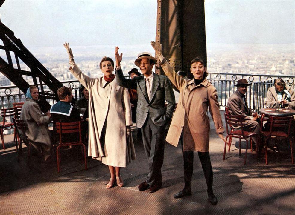 Drôle de frimousse : Photo Audrey Hepburn, Fred Astaire