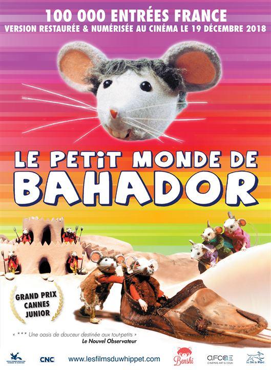 Le Petit monde de Bahador : Affiche