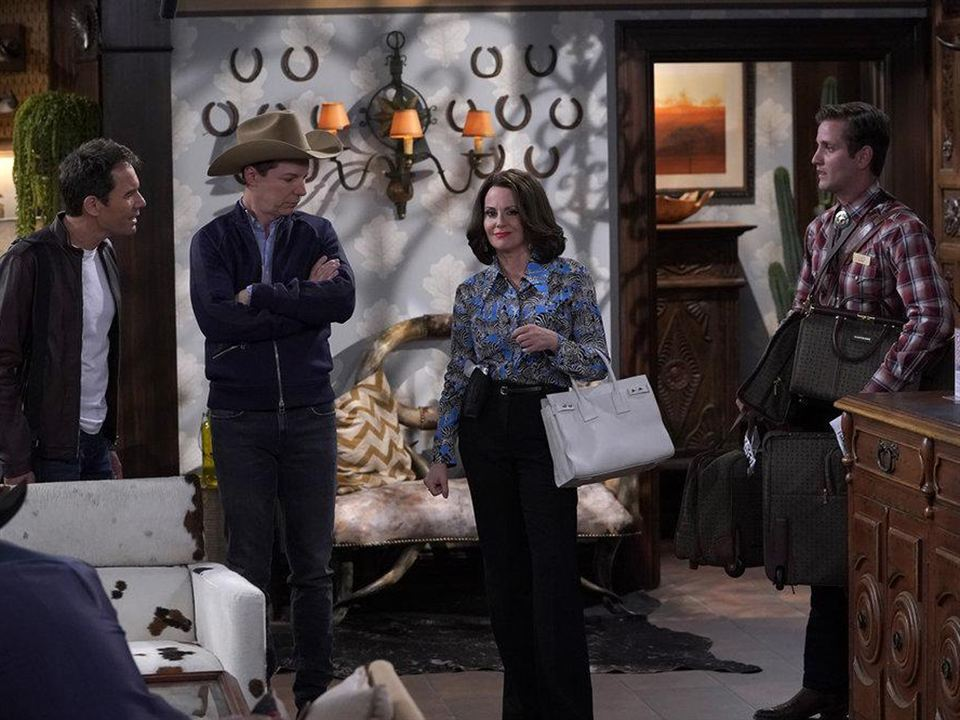 Photo Eric McCormack, Megan Mullally, Sean Hayes