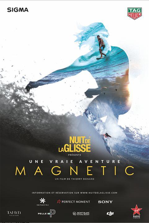 Nuit de la Glisse: Magnetic : Affiche