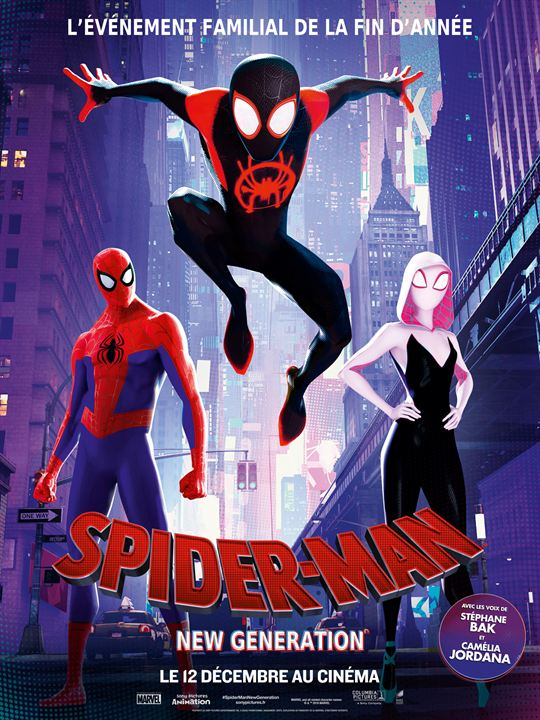 Spider-Man : New Generation : Affiche