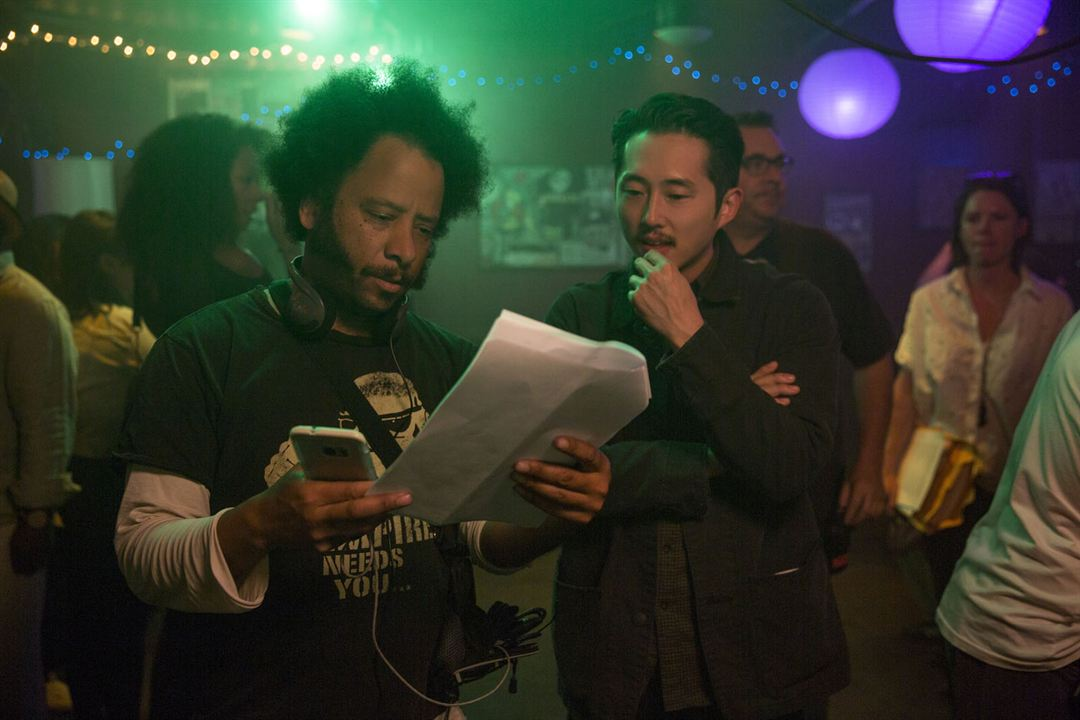 Sorry To Bother You : Photo Boots Riley, Steven Yeun