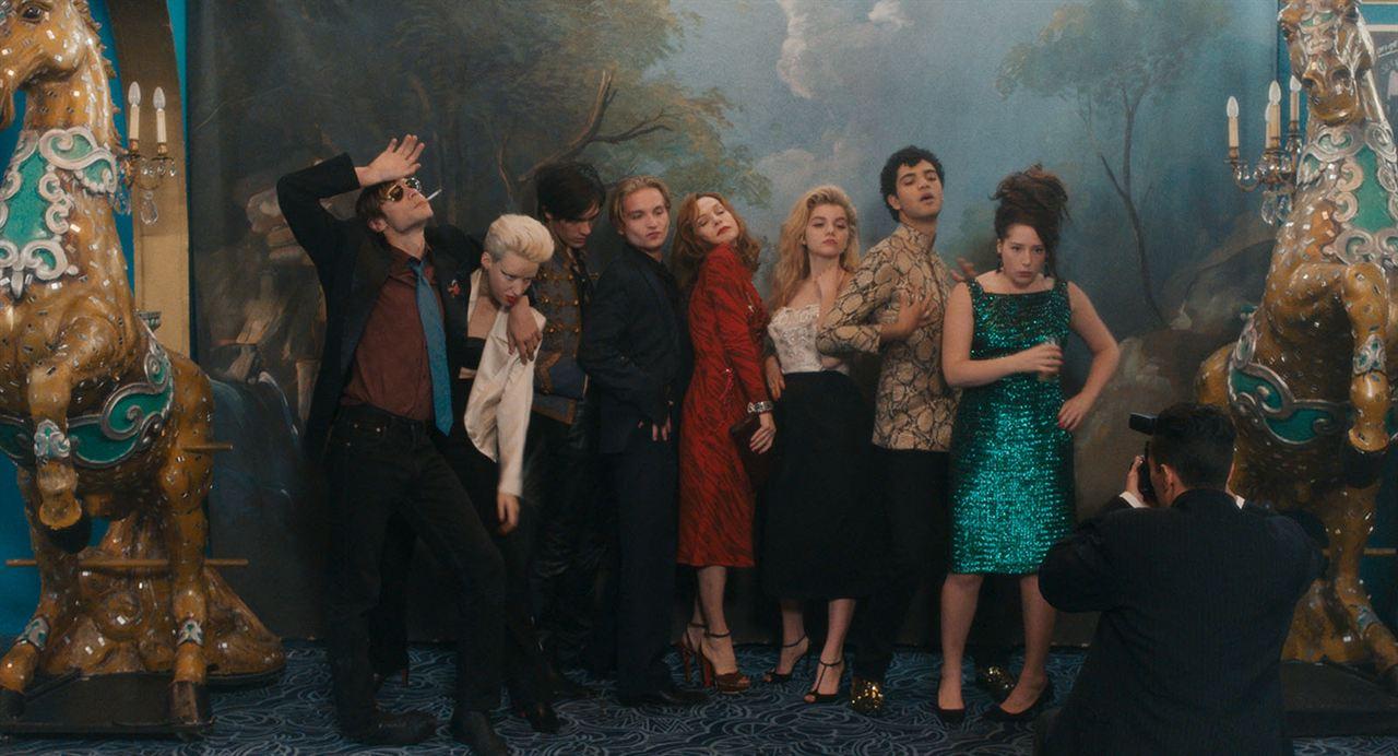 Une jeunesse dorée : Photo Alain-Fabien Delon, Galatea Bellugi, Isabelle Huppert, Lukas Ionesco