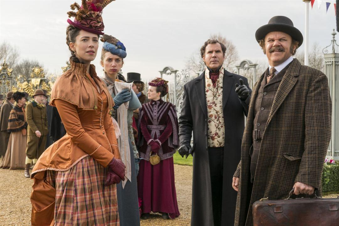 Holmes & Watson : Photo John C. Reilly, Lauren Lapkus, Rebecca Hall, Will Ferrell
