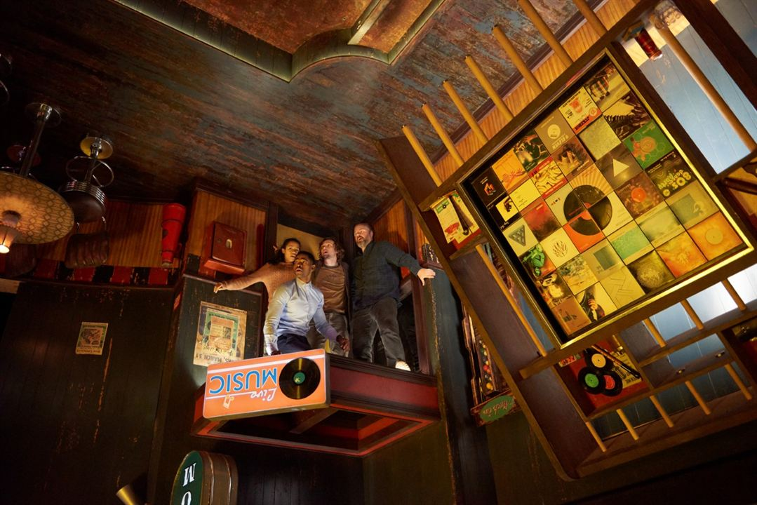 Escape Game : Photo Jay Ellis, Logan Miller, Taylor Russell McKenzie, Tyler Labine