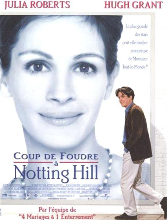Affiche du film coup de foudre notting hill affiche 1 - Musique coup de foudre a notting hill ...
