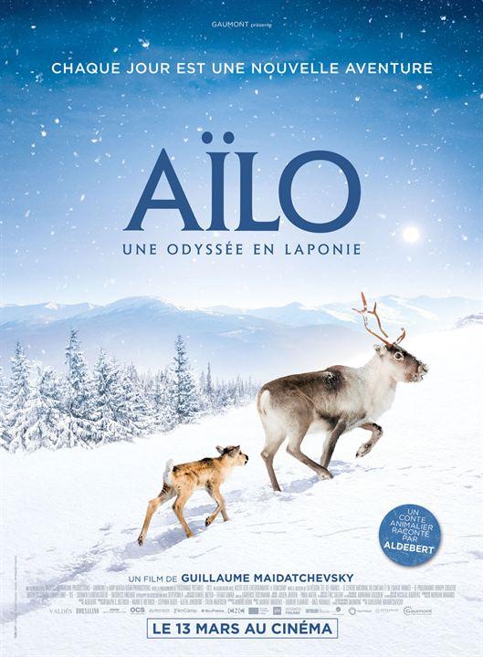 Aïlo : une odyssée en Laponie : Affiche