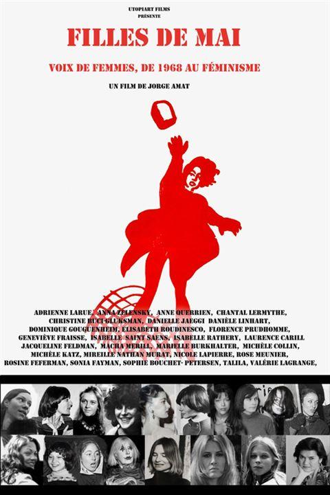 Filles de mai - voix de femmes, de 1968 au féminisme : Affiche