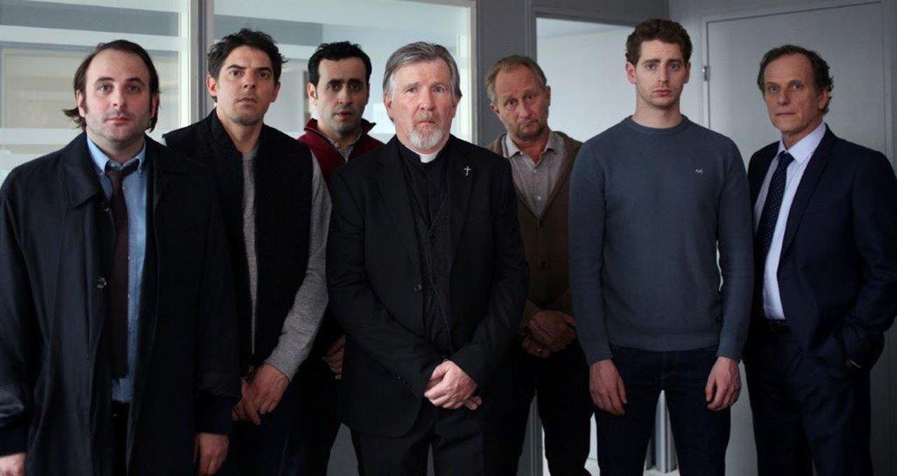 Blanche Comme Neige : Photo Benoît Poelvoorde, Charles Berling, Damien Bonnard, Jonathan Cohen, Pablo Pauly