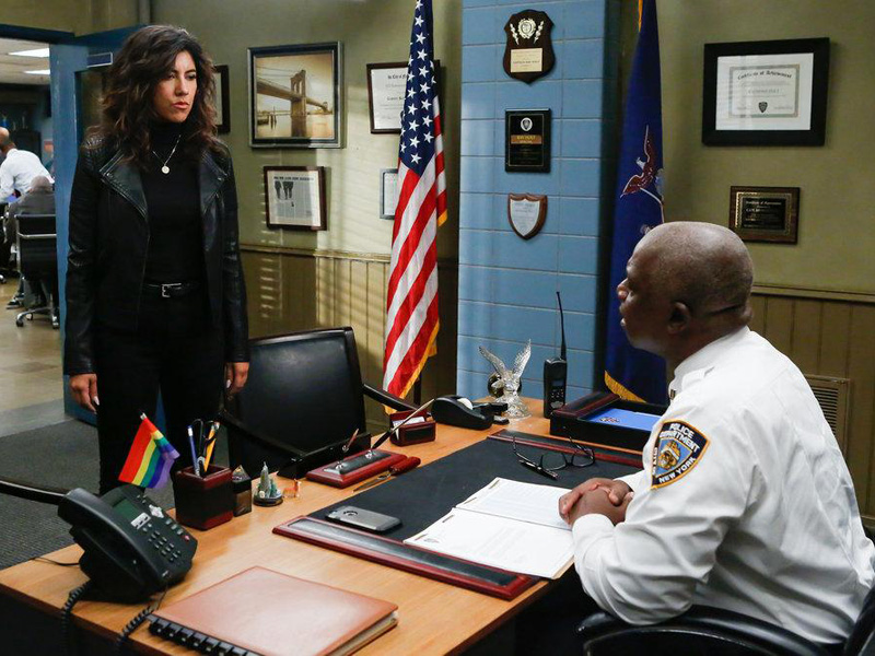 Photo Andre Braugher, Stephanie Beatriz