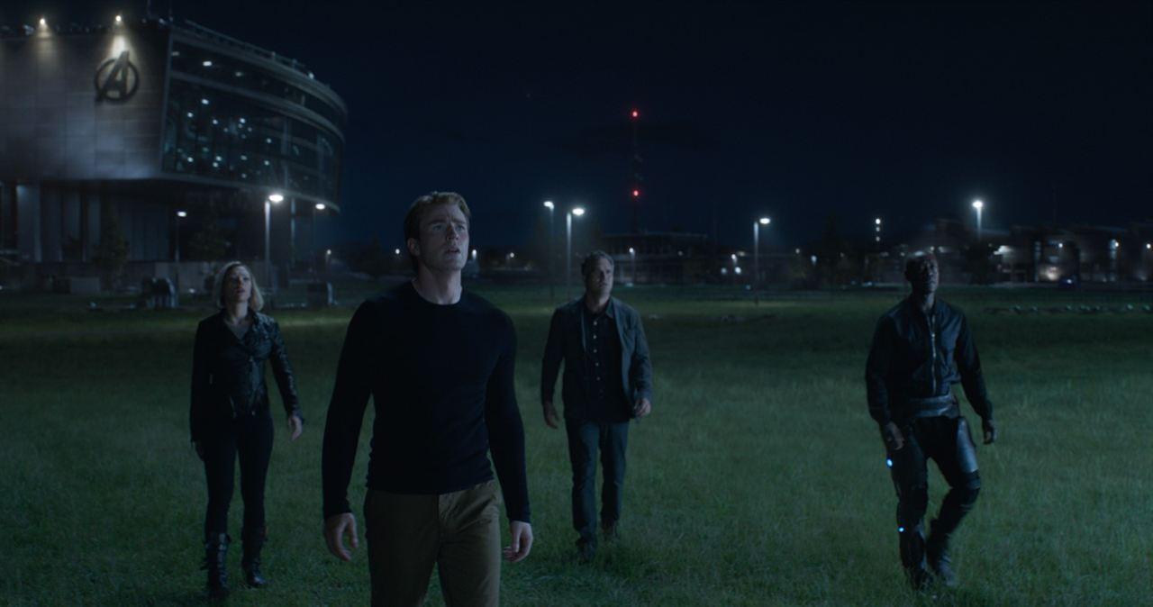 Avengers: Endgame : Photo Chris Evans, Don Cheadle, Mark Ruffalo, Scarlett Johansson