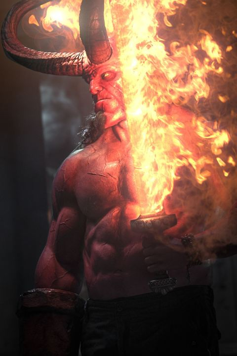 Hellboy : Photo David Harbour