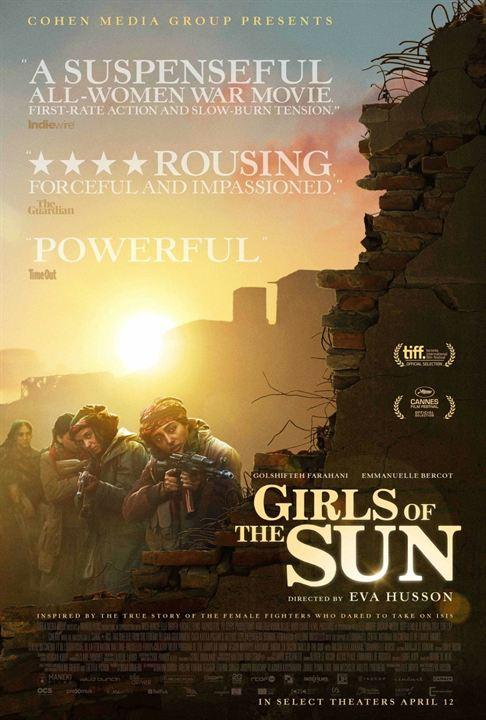 Les Filles du soleil : Affiche