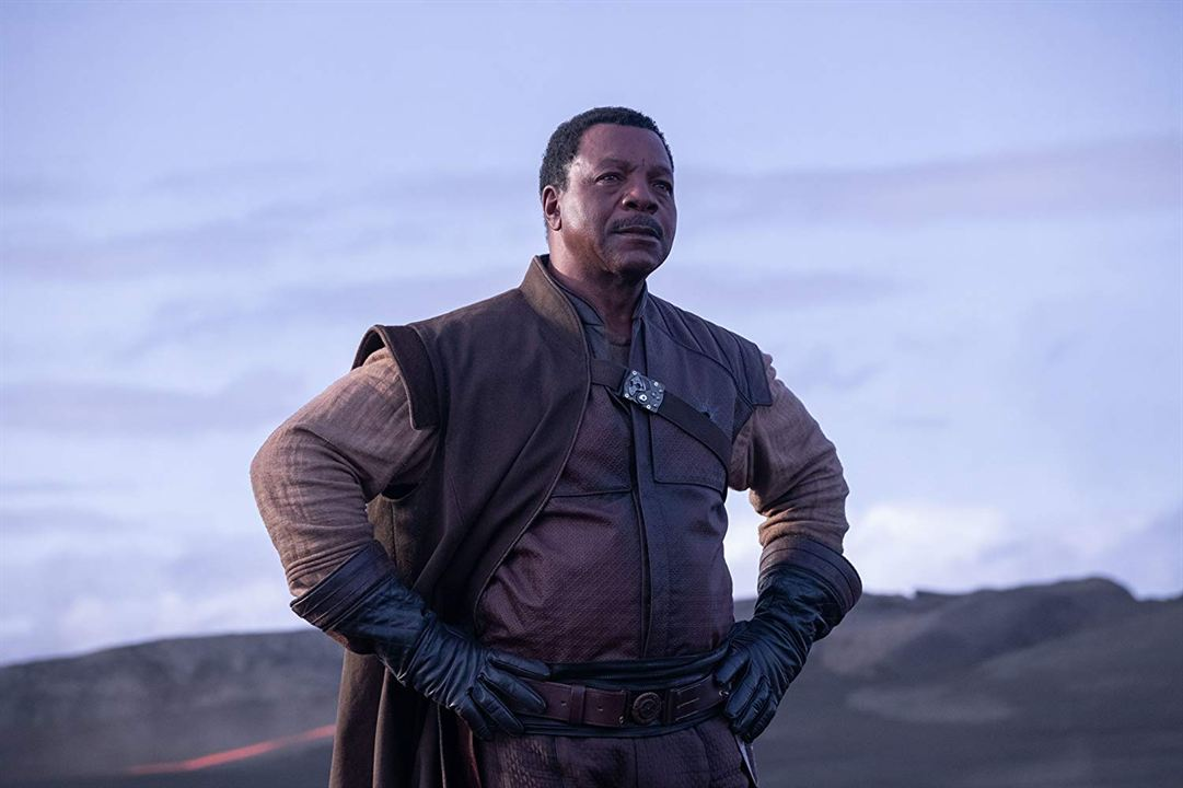 The Mandalorian : Photo Carl Weathers