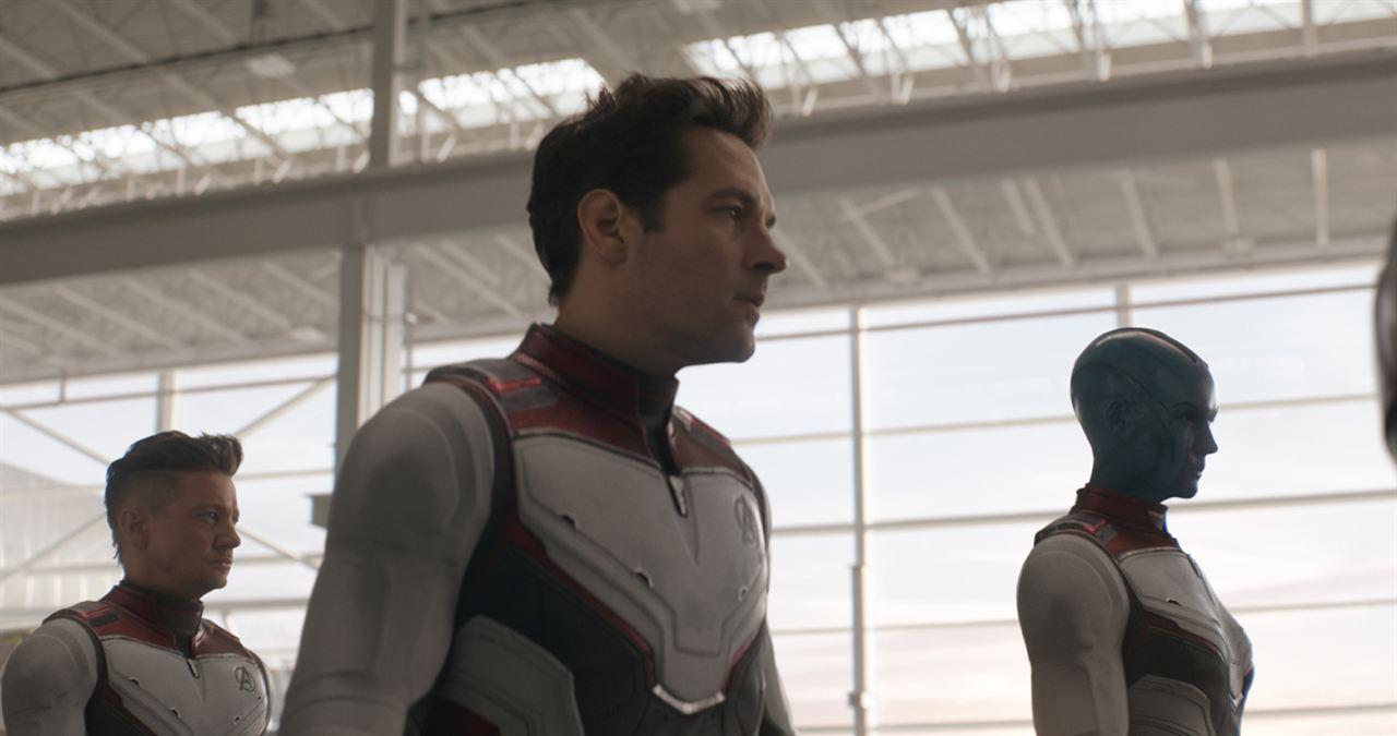 Avengers: Endgame : Photo Jeremy Renner, Karen Gillan, Paul Rudd