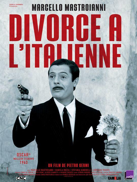 Divorce à l'Italienne : Affiche Pietro Germi