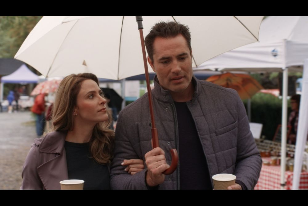 Photo Jill Wagner, Victor Webster