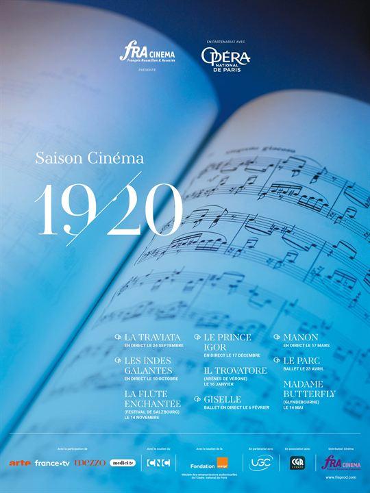 Les Indes galantes (Opéra de Paris-FRA Cinéma) : Affiche