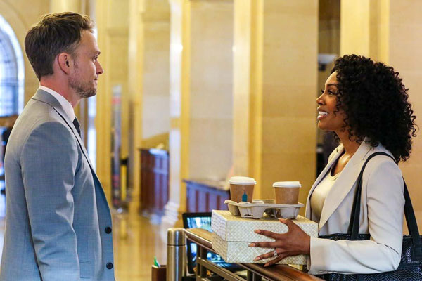 Photo Simone Missick, Wilson Bethel