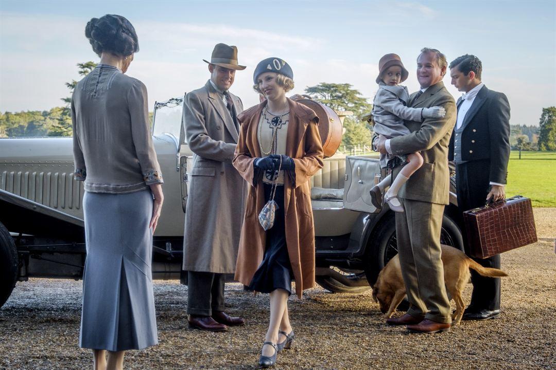 Downton Abbey : Photo Elizabeth McGovern, Harry Hadden-Paton, Hugh Bonneville, Laura Carmichael, Michael Fox (III)
