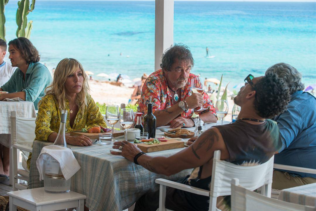 Ibiza : Photo Mathilde Seigner, Olivier Marchal