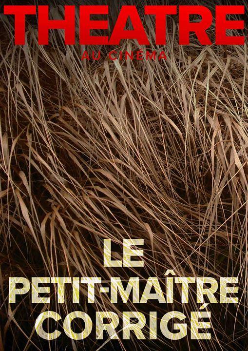 Le Petit-Maître corrigé (Comédie-Française) : Affiche
