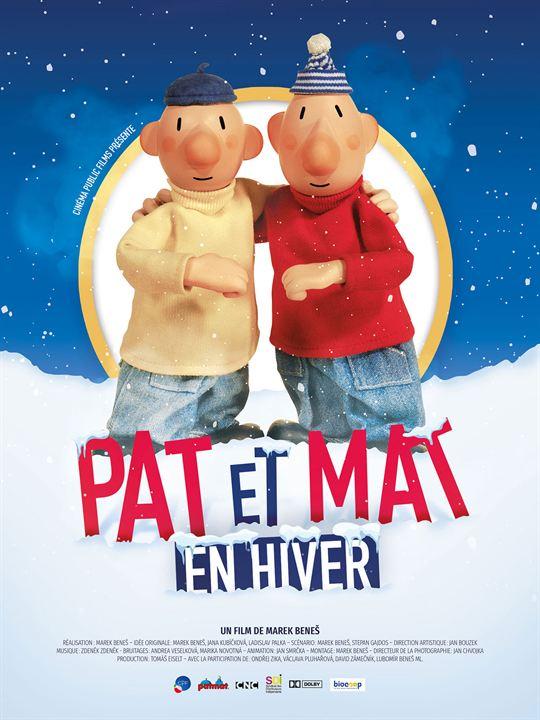 Pat et Mat en hiver : Affiche