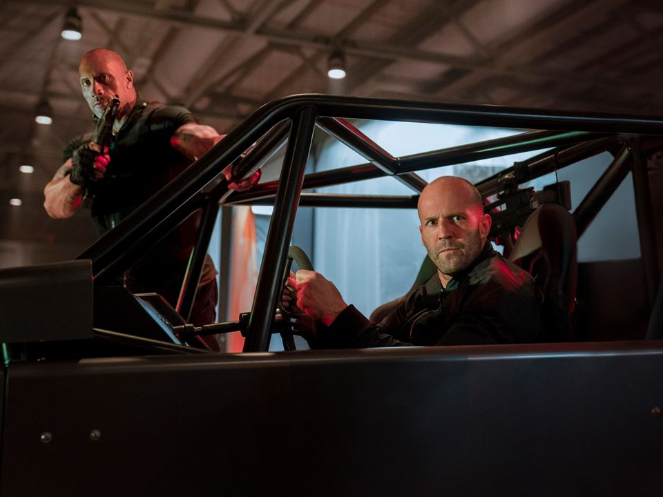 Fast & Furious : Hobbs & Shaw : Photo Dwayne Johnson, Jason Statham
