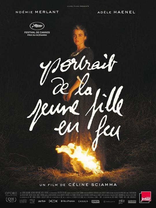 Portrait de la jeune fille en feu : Affiche