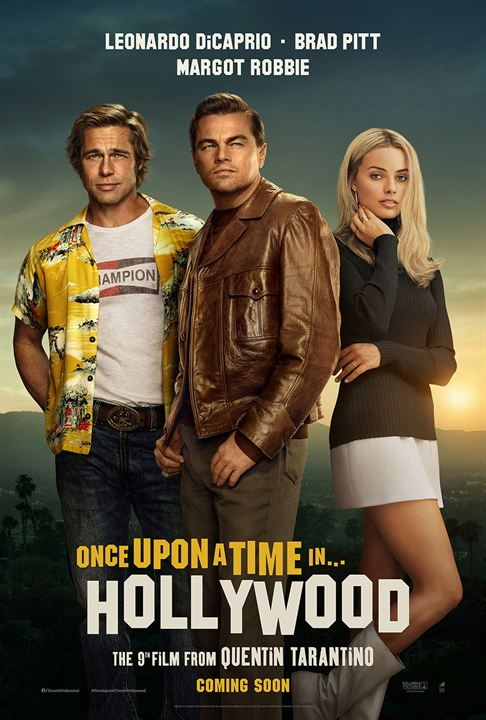 Once Upon a Time… in Hollywood : Affiche